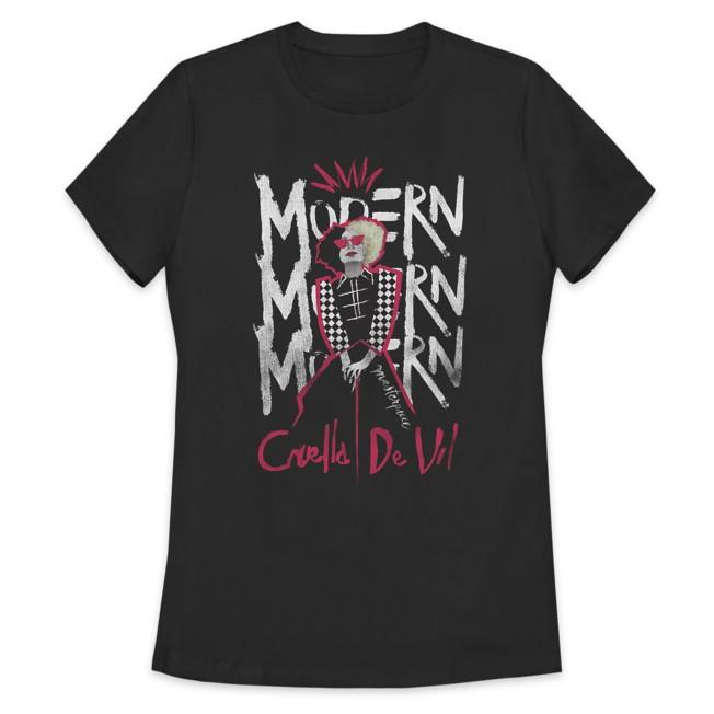 Cruella ''Modern'' T-Shirt for Women – Live Action