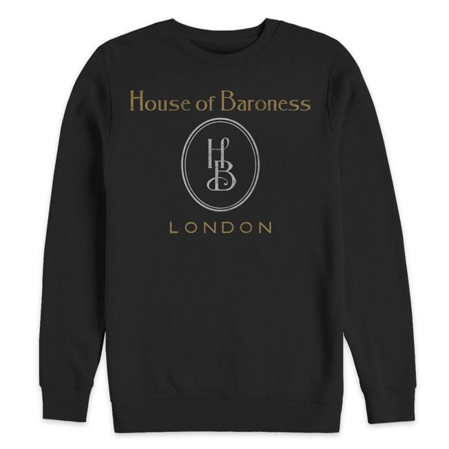 Cruella ''House of Baroness'' Pullover Sweatshirt for Adults – Live Action