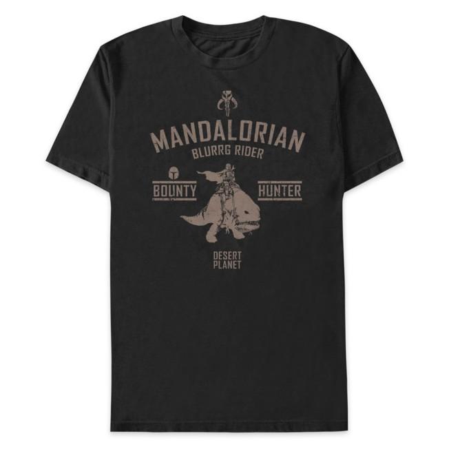 Mandalorian Blurrg Rider T-Shirt for Adults – Star Wars: The Mandalorian