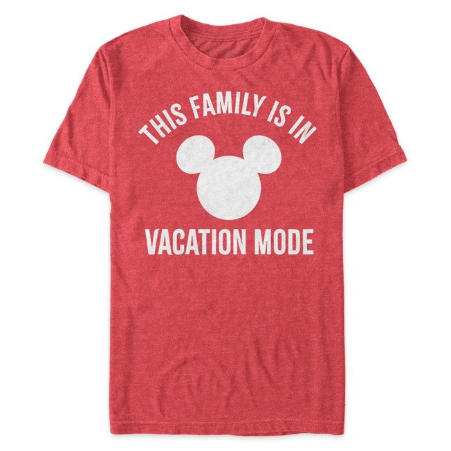 Mickey Mouse Icon ''Vacation'' T-Shirt for Adults