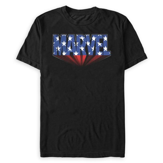 Marvel Logo Americana T-Shirt for Adults