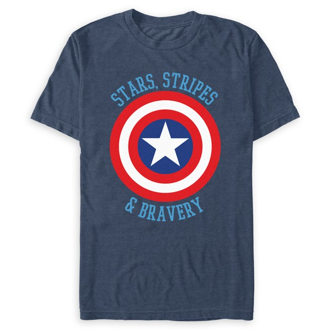 Captain America Shield T-Shirt for Adults