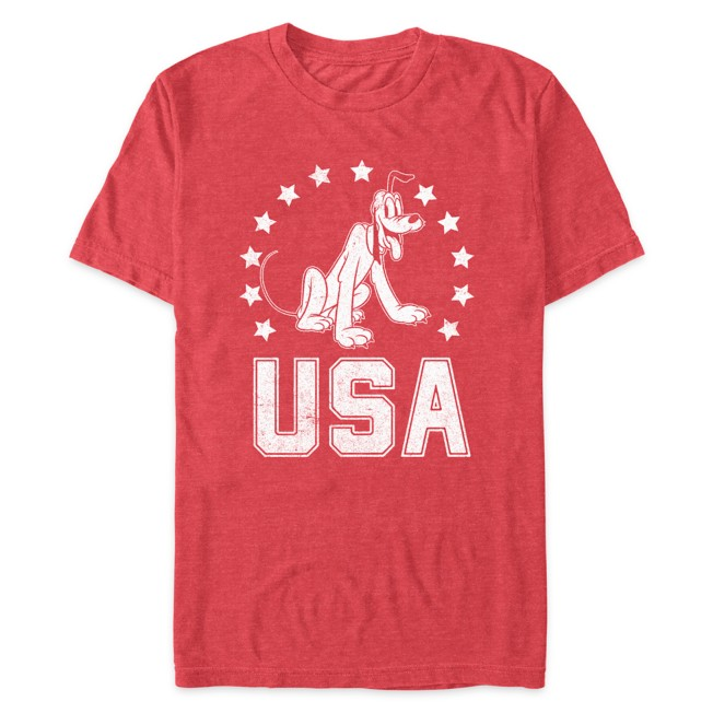 Pluto Americana T-Shirt for Adults