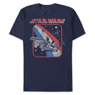 Millennium Falcon Americana T-Shirt for Adults – Star Wars