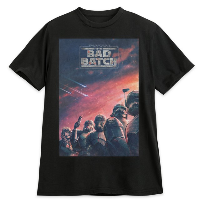 Star Wars: The Bad Batch Poster T-Shirt for Adults