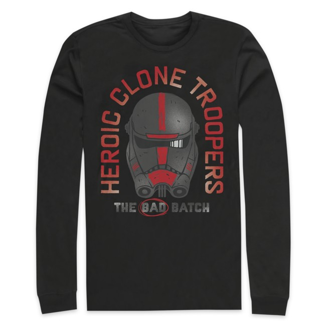 Heroic Clone Troopers Long Sleeve T-Shirt for Adults – Star Wars: The Bad Batch