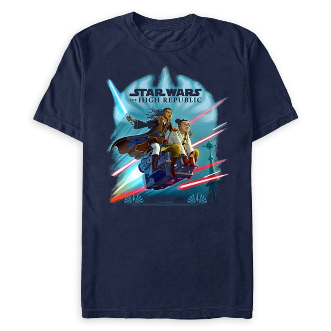 Star Wars The High Republic: Race to Crashpoint Tower T-Shirt for Adults