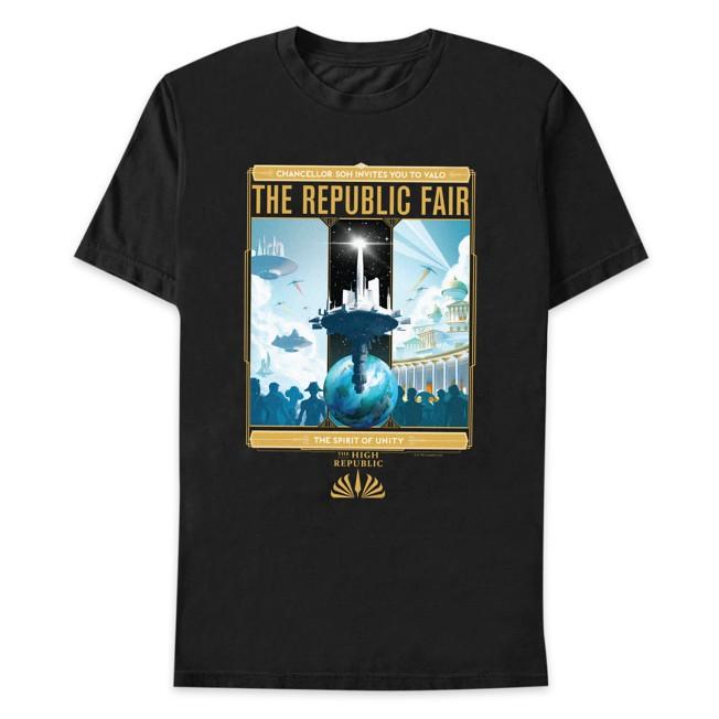 Star Wars The High Republic: The Republic Fair T-Shirt for Adults