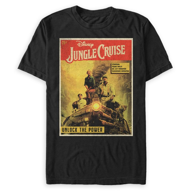Jungle Cruise Book Cover T-Shirt for Adults – Jungle Cruise Film