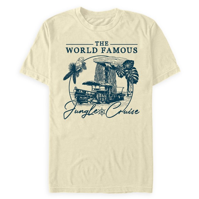 The World Famous Jungle Cruise Illustration T-Shirt for Adults – Jungle Cruise Film