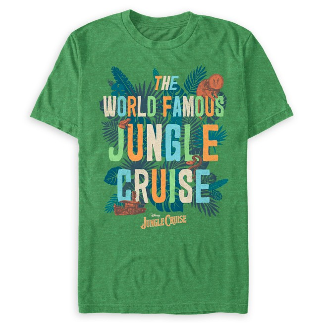 The World Famous Jungle Cruise Flora and Fauna T-Shirt for Adults – Jungle Cruise Film