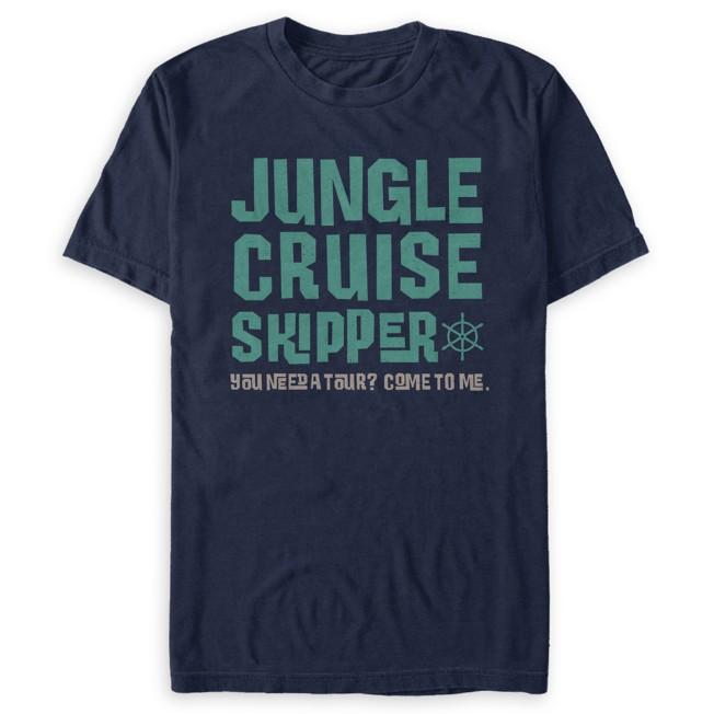 Jungle Cruise Skipper T-Shirt for Adults – Jungle Cruise Film
