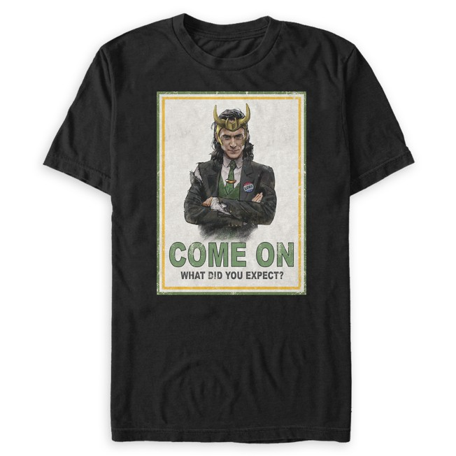 Loki ''What Did You Expect?'' T-Shirt for Adults