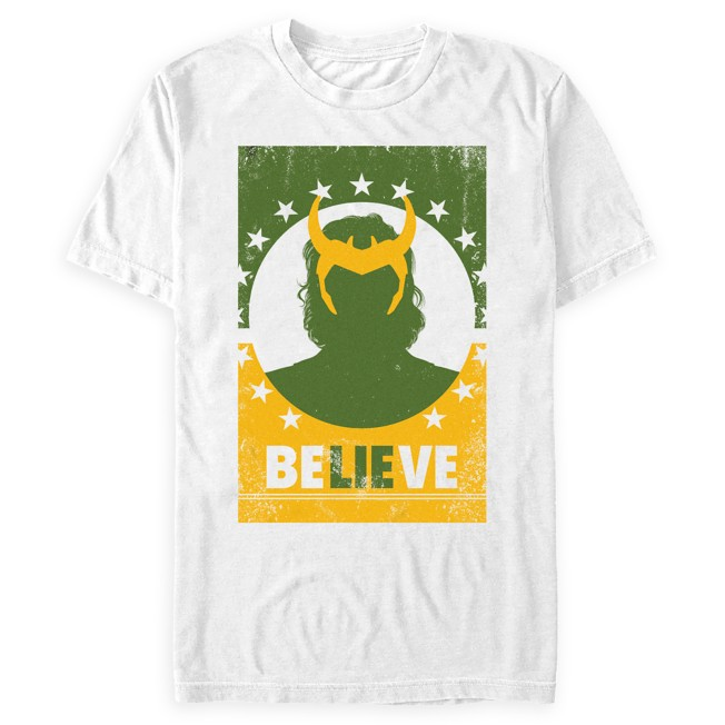 Loki ''Believe'' T-Shirt for Adults