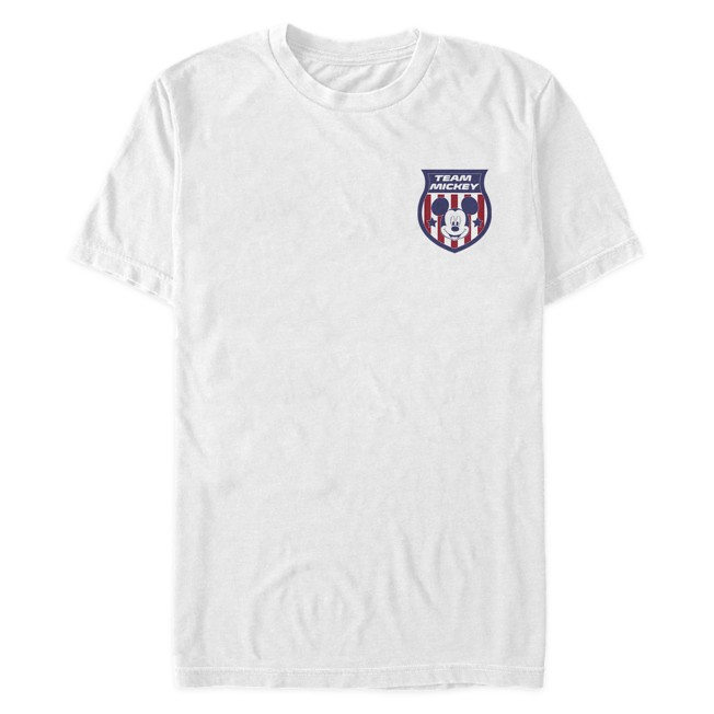 Mickey Mouse Team Badge T-Shirt for Adults