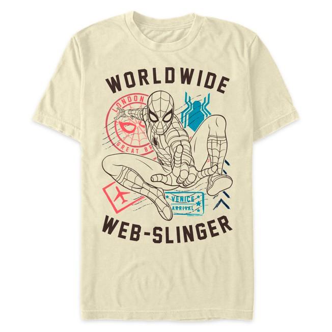 Spider-Man ''Worldwide Web-Slinger'' T-Shirt for Adults