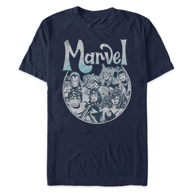 Marvel Vintage Comic Art T-Shirt for Adults