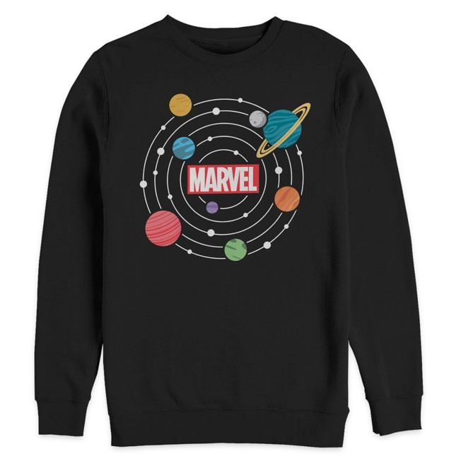 Marvel Universe Graphic Pullover Fleece Top for Adults