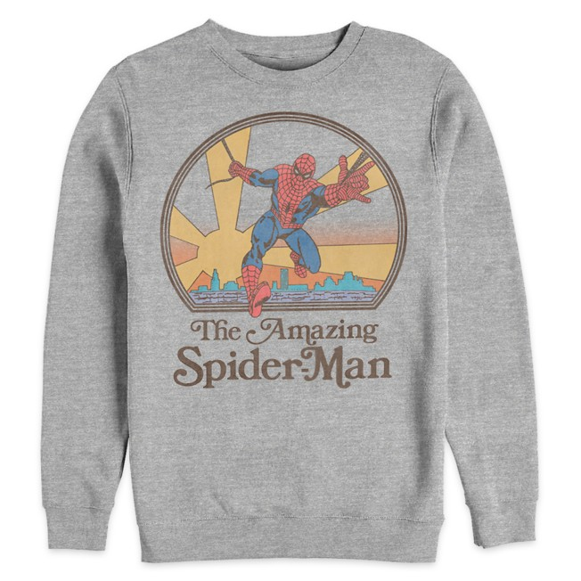Spider-Man Pullover Fleece Top for Adults