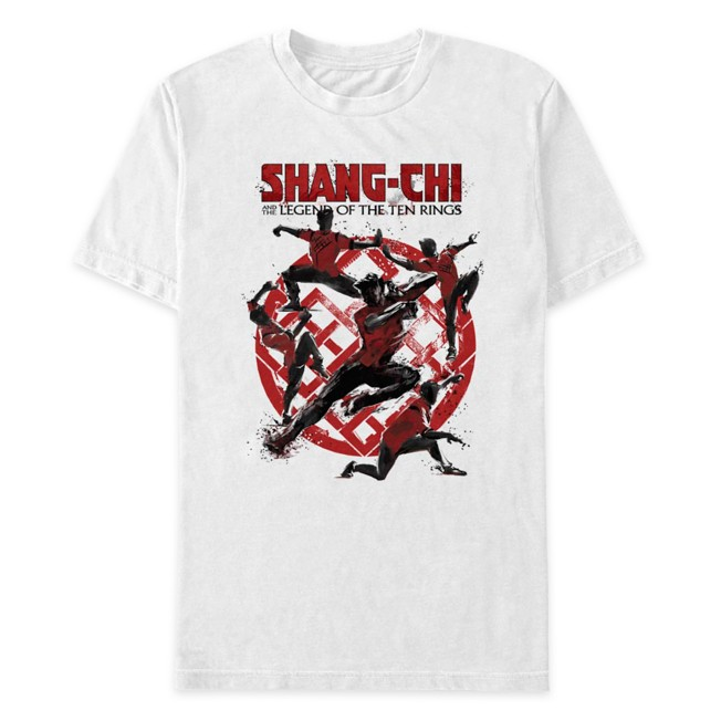Shang-Chi and the Legend of the Ten Rings T-Shirt for Adults – White