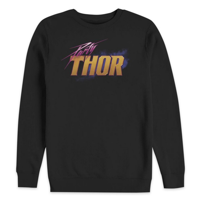 Party Thor Logo Sweatshirt for Adults – Marvel What If...?