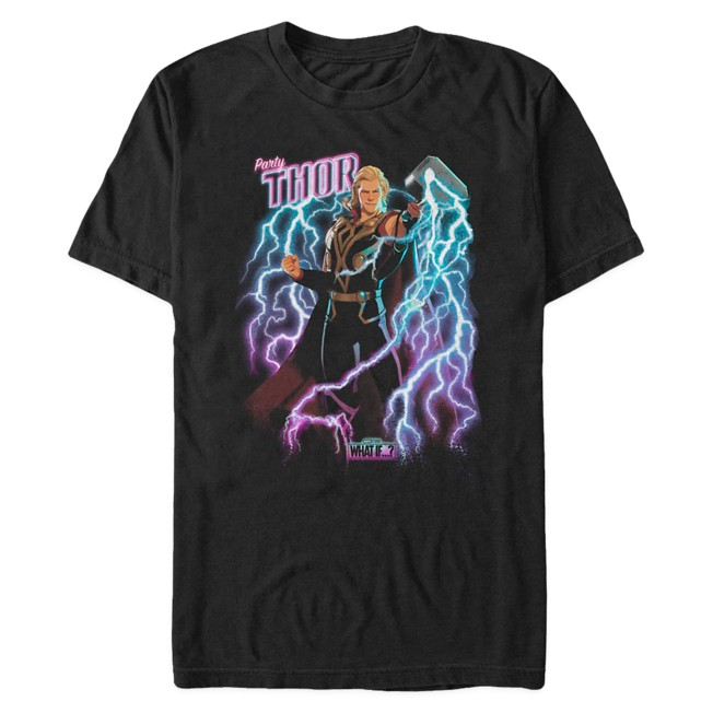 Party Thor T-Shirt for Adults – Marvel What If...?