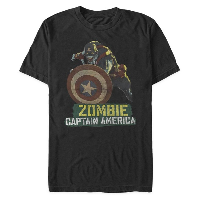 Zombie Captain America T-Shirt for Adults – Marvel What If...?