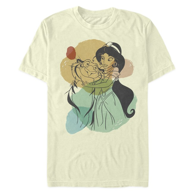 Jasmine and Rajah T-Shirt for Adults – Aladdin