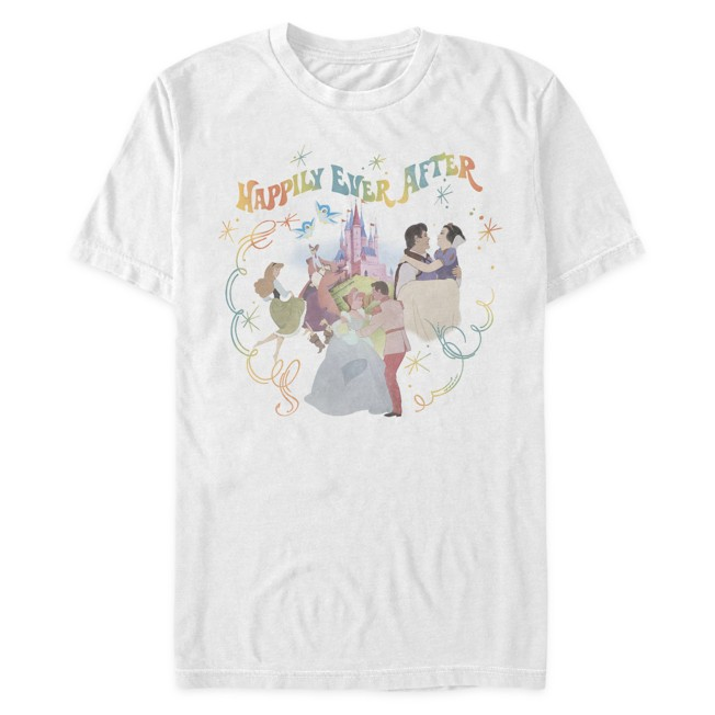 Disney Princess ''Happily Ever After'' T-Shirt for Adults
