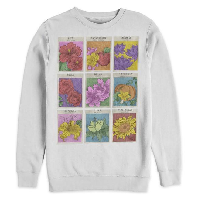 Disney Princess ''Seeds'' Sweatshirt for Adults