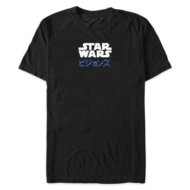 Star Wars: Visions Logo T-Shirt for Adults