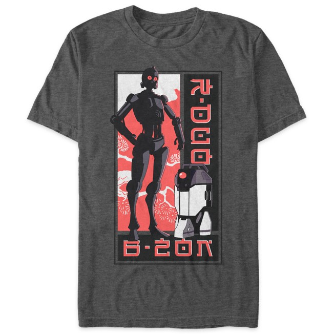 Star Wars: Visions Droids T-Shirt for Adults – The Twins