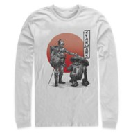 Star Wars: Visions Droids Long Sleeve T-Shirt for Adults – The Duel