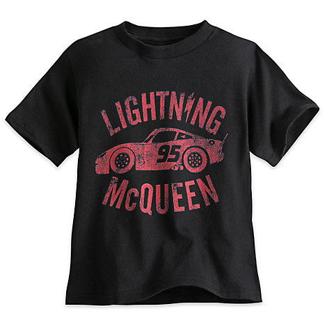 Lightning McQueen Tee for Toddlers - Cars 3