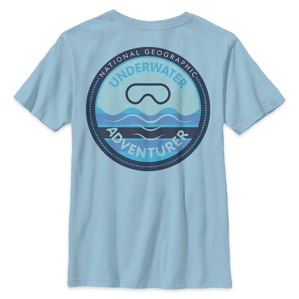 National Geographic Underwater Adventure T-Shirt for Kids
