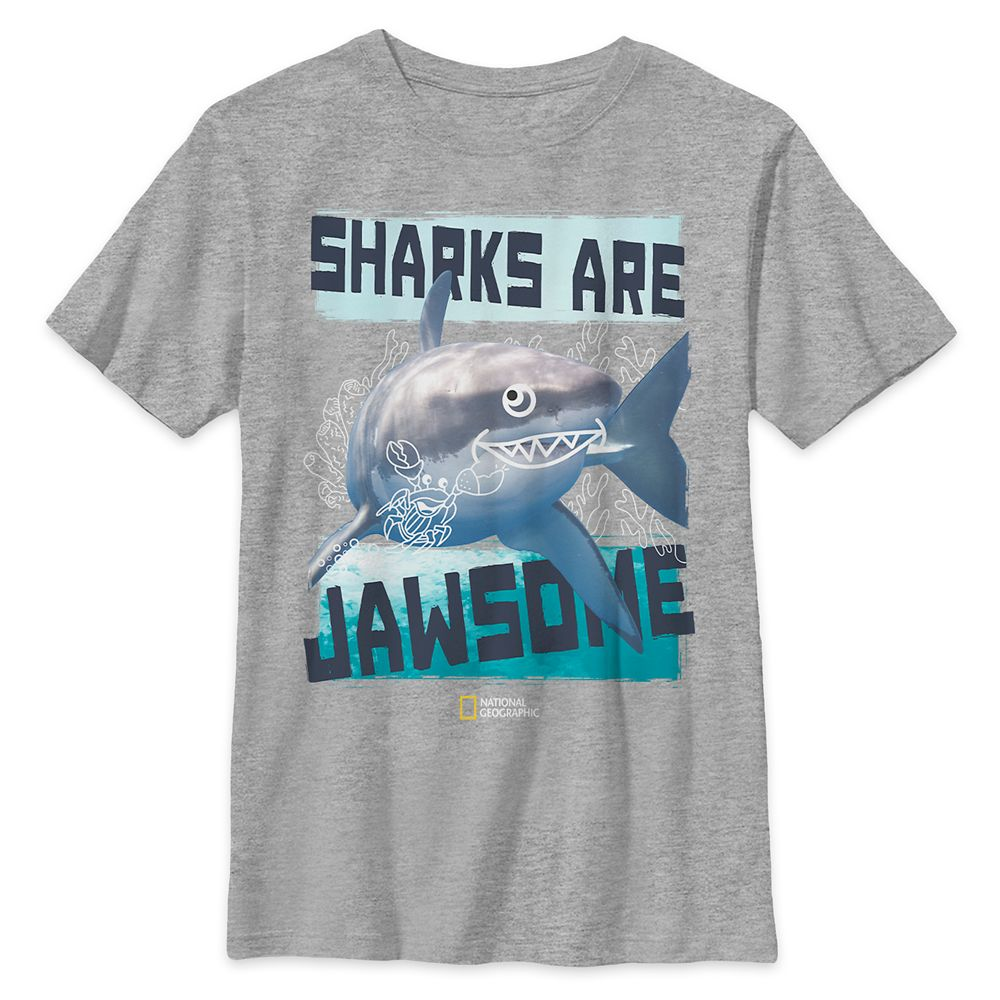 National Geographic Shark T-Shirt for Kids