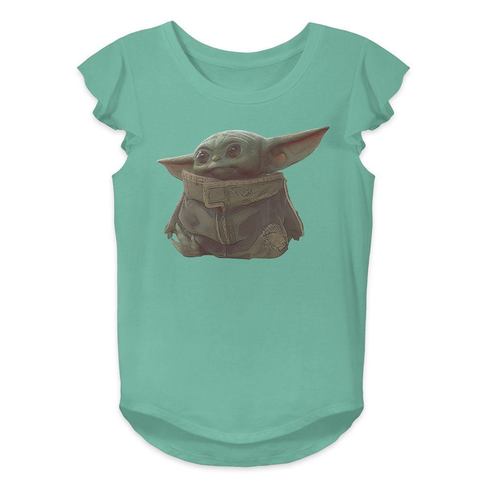 The Child – Star Wars: The Mandalorian T-Shirt for Girls – Green
