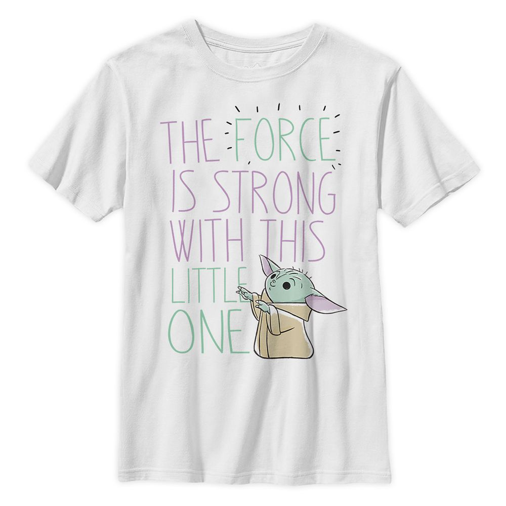 The Child ''The Force Is Strong'' T-Shirt for Kids – Star Wars: The Mandalorian