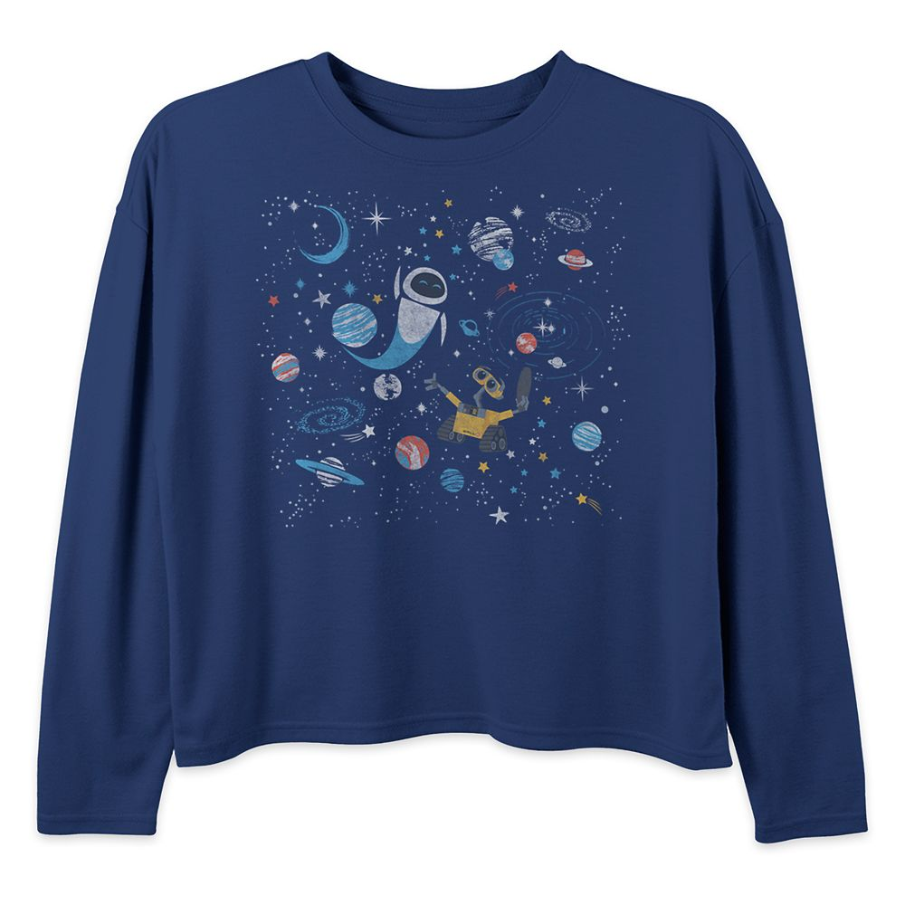 WALL•E and E.V.E. Long Sleeve Pullover Top for Girls