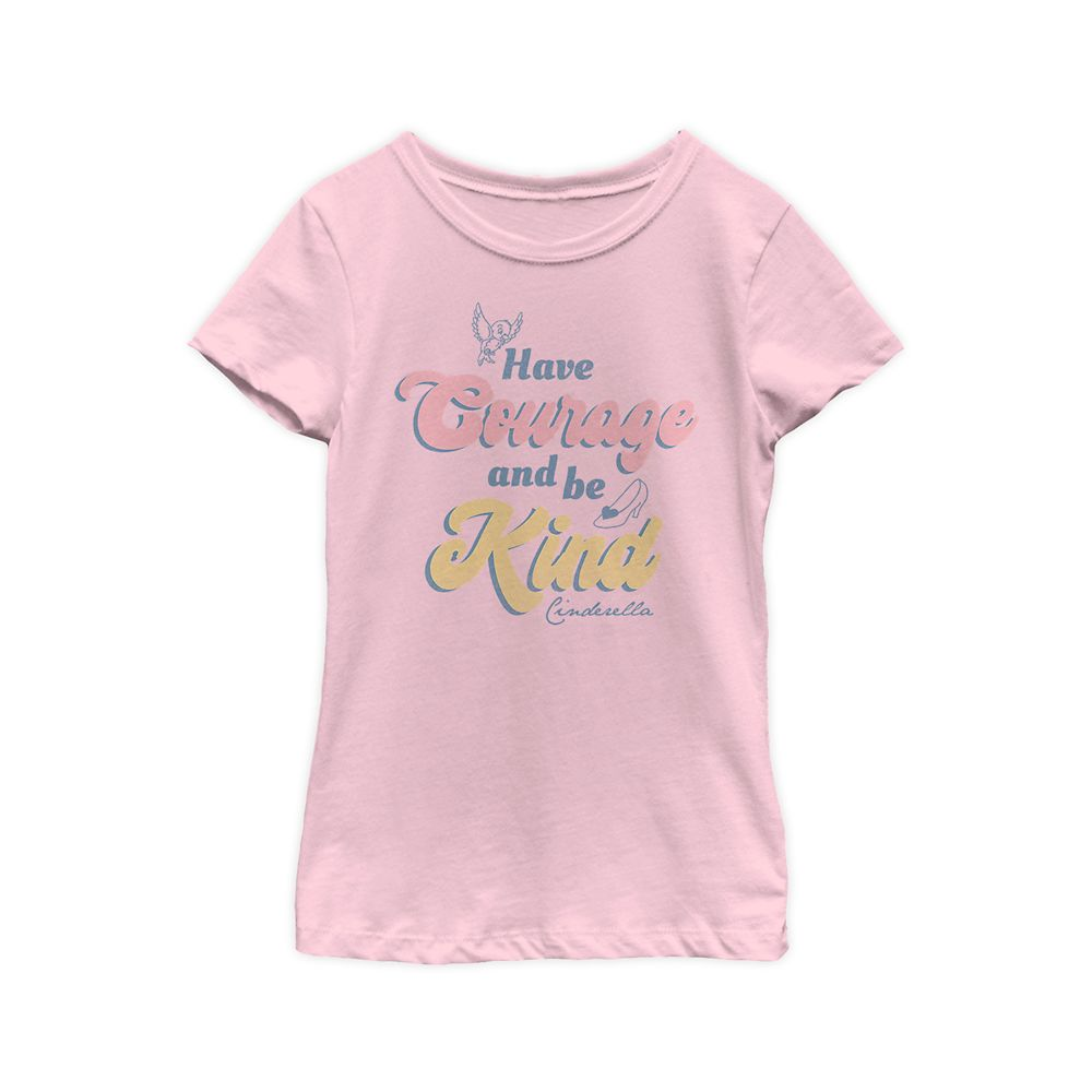 Cinderella ''Have Courage and Be Kind'' T-Shirt for Girls