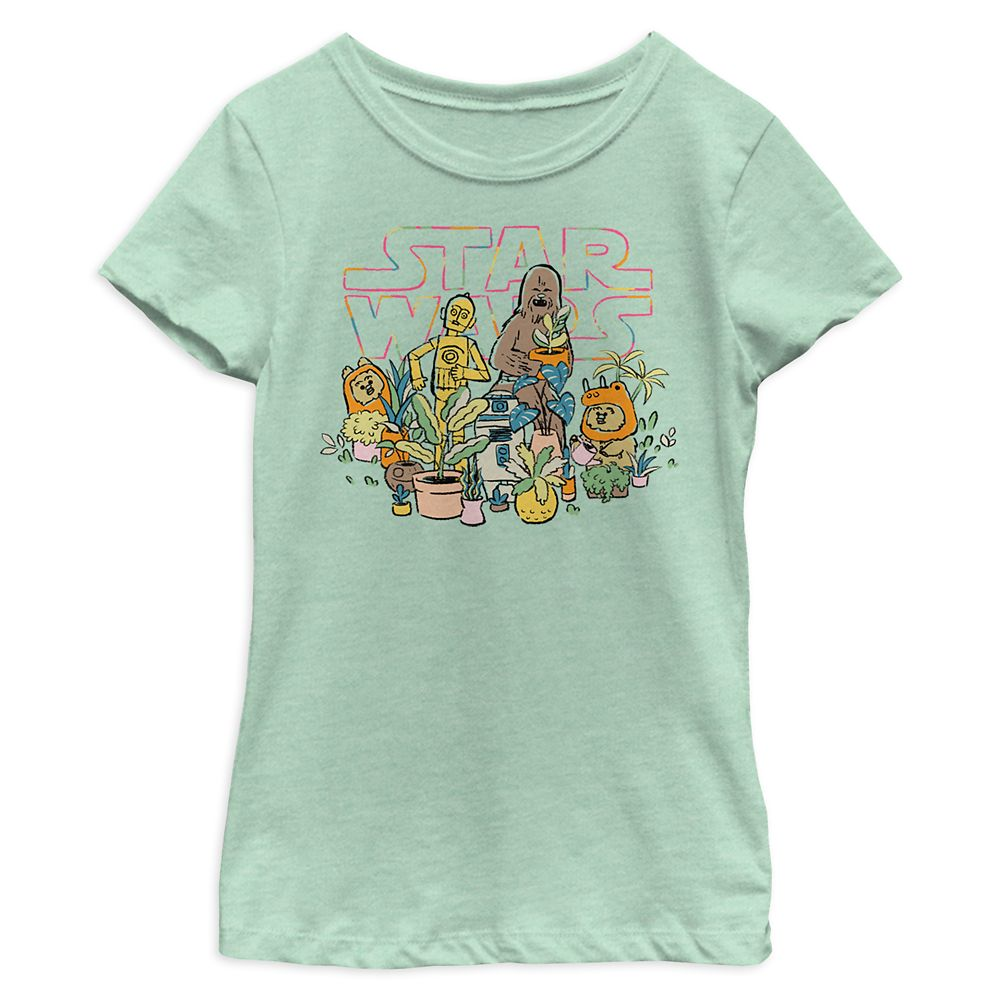 Star Wars Greenhouse T-Shirt for Girls