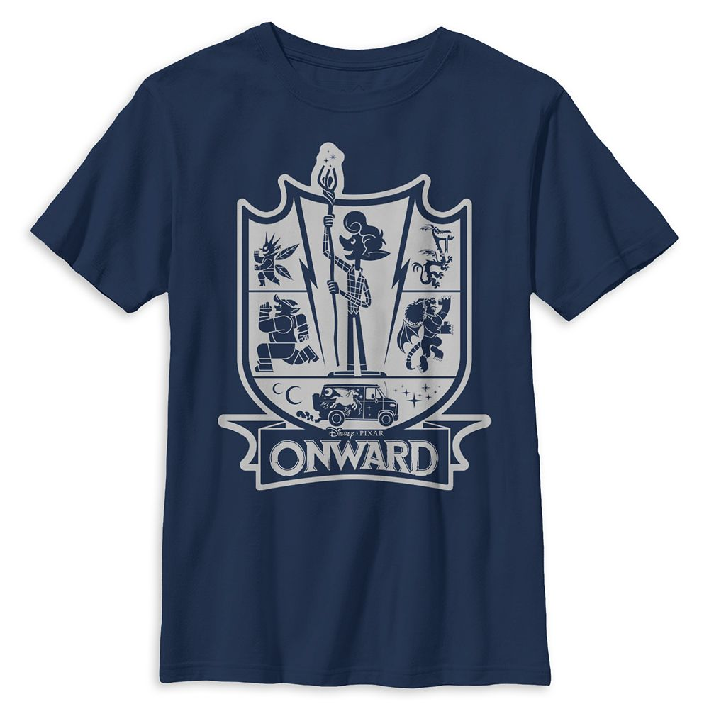 Onward Crest T-Shirt for Boys