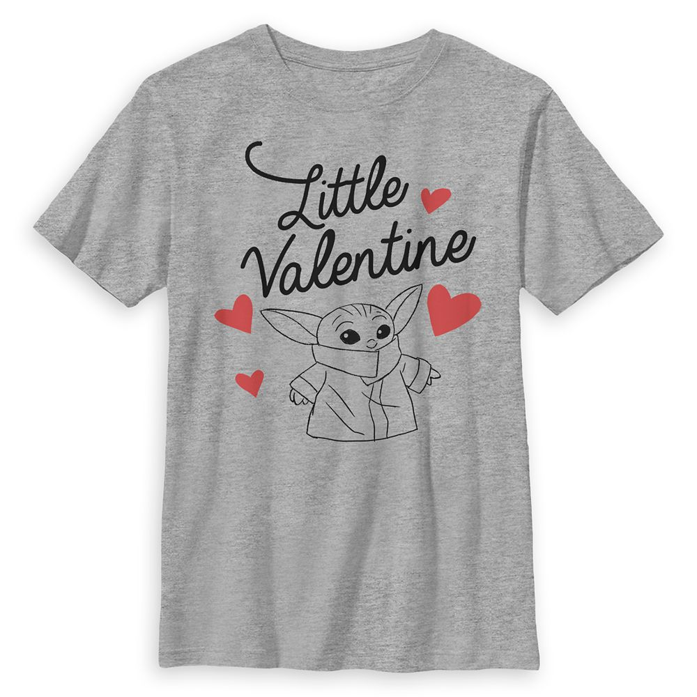 The Child ''Little Valentine'' – Star Wars: The Mandalorian T-Shirt for Kids