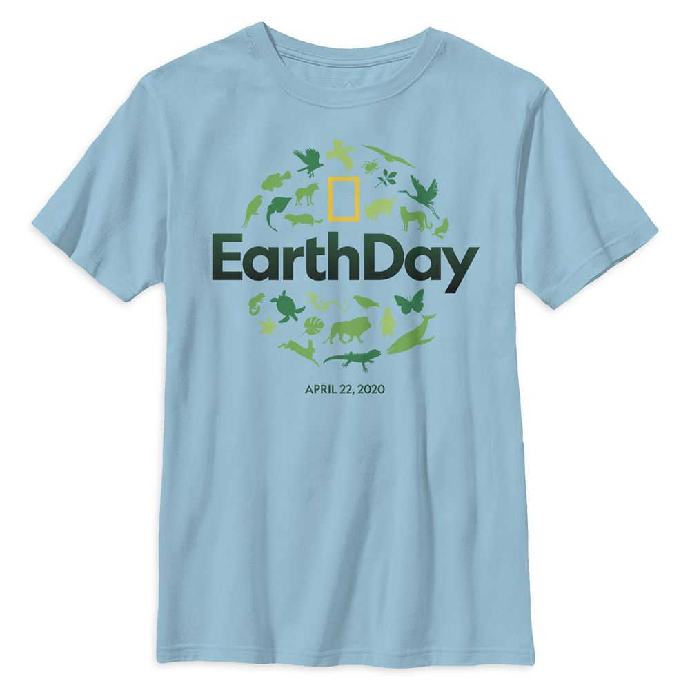Earth Day Logo T-Shirt for Kids – National Geographic