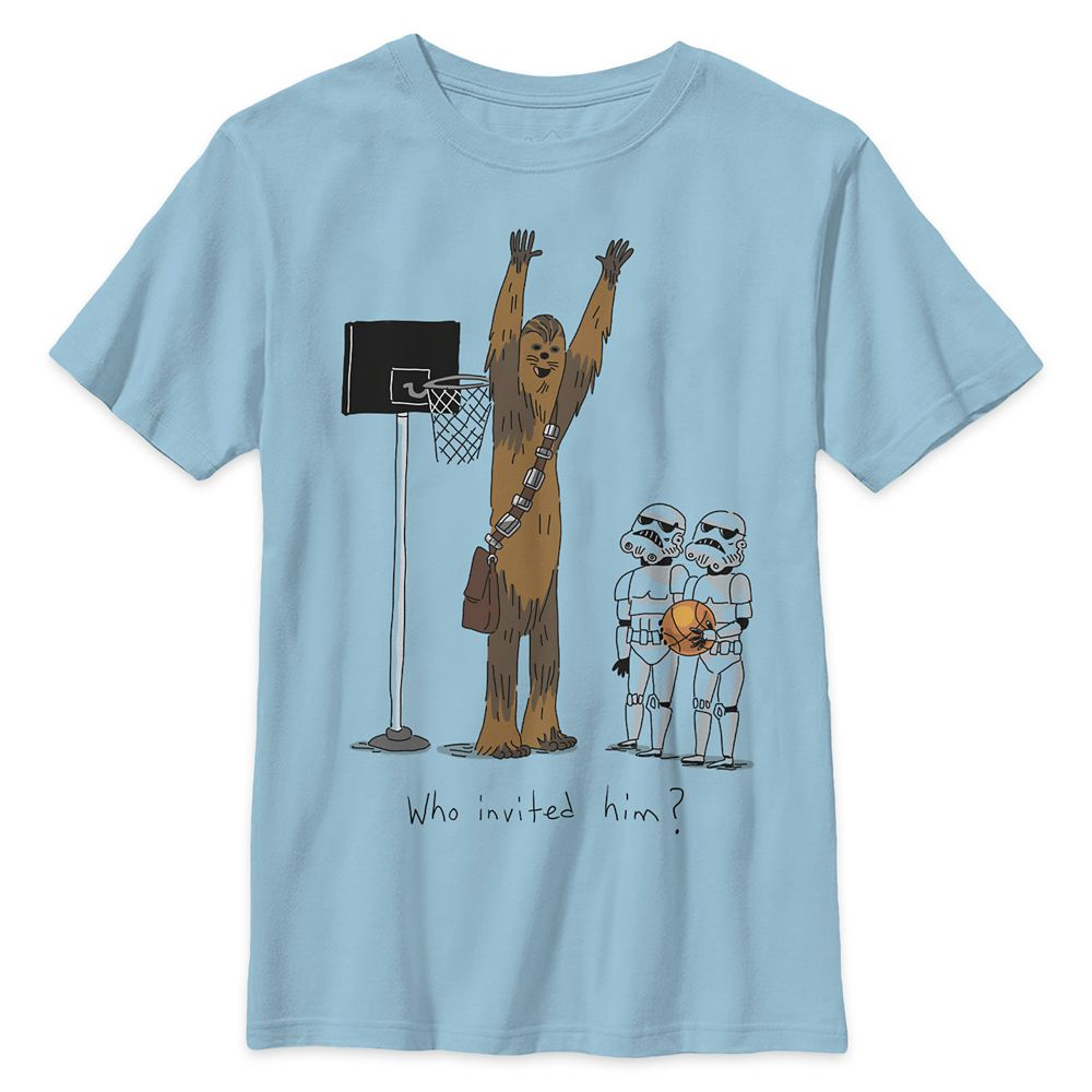 Chewbacca Basketball T-Shirt for Boys – Star Wars