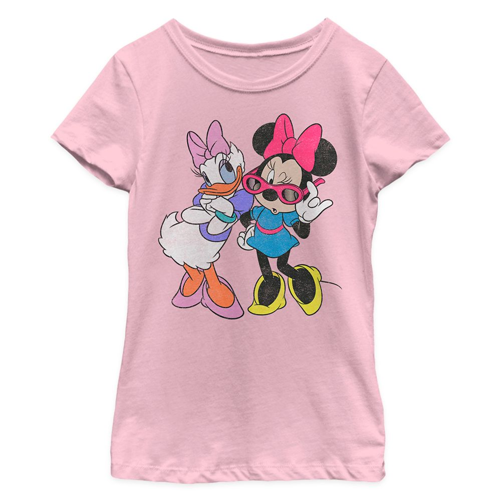 Minnie Mouse and Daisy Duck T-Shirt for Girls