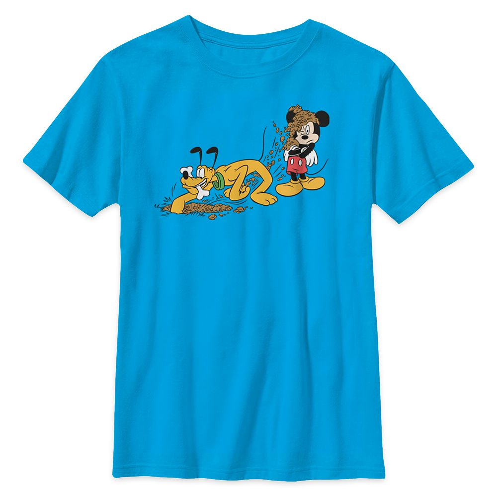 Mickey Mouse and Pluto T-Shirt for Kids