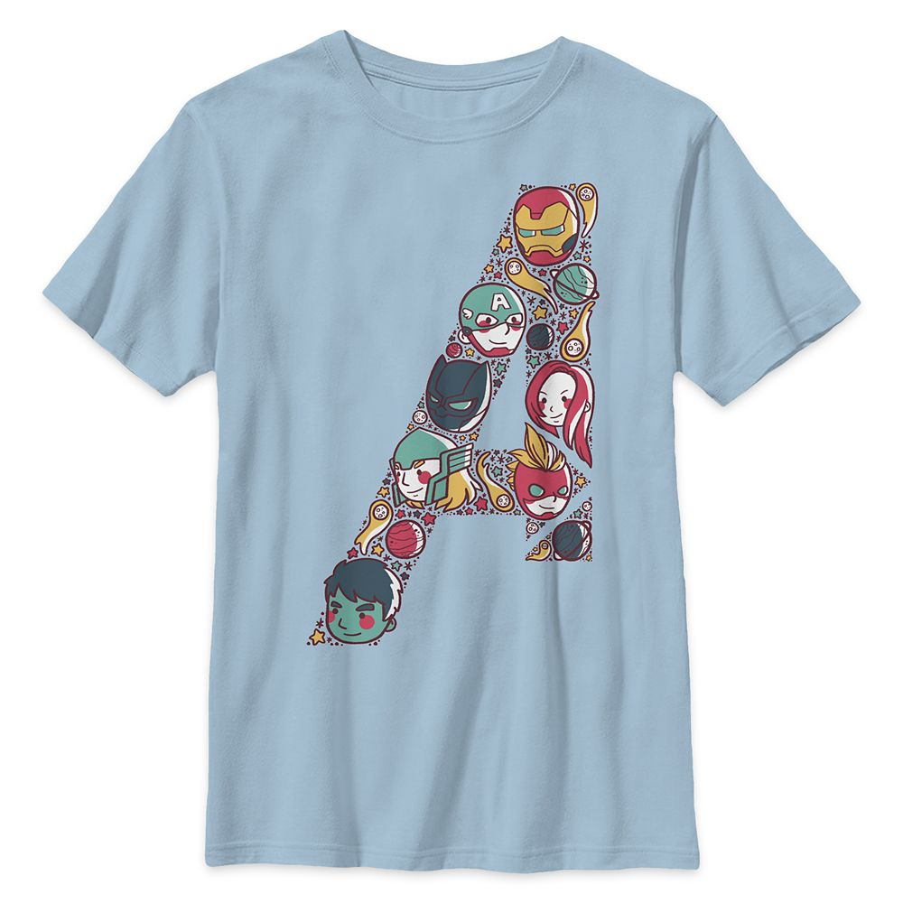 Avengers Assemble Emblem T-Shirt for Kids