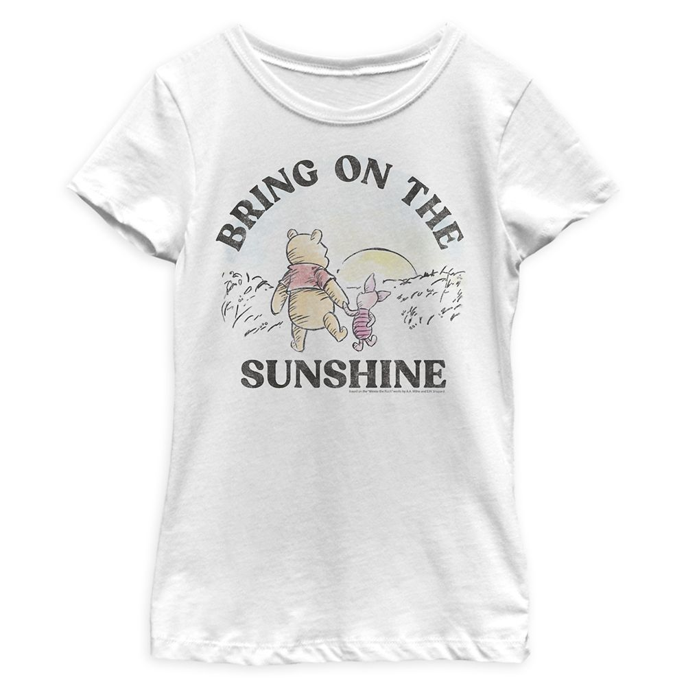 Winnie the Pooh and Piglet T-shirt for Girls