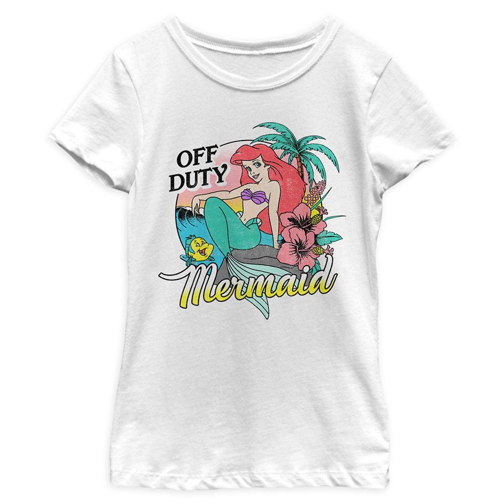 Ariel T-Shirt for Girls – The Little Mermaid